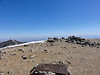 "Mt. Baldy summit - Round Three.<br /> <br /> 10:00am. 2:25 up. (2:08 if you subtract the ""socializing time."")"