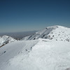Mt. Baldy from West Baldy.