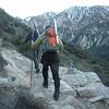 Mark and Shin heading up the Bear Canyon Trail.