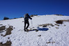 Crossing some snow on West Baldy.