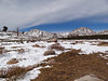 Cirque Peak and Army Pass Point.<br /> <br /> The central couloir is filling up.