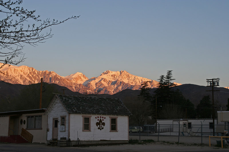 Mt. Williamson from Lone Pine.