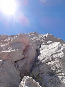 The NE Ridge.