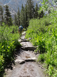 Rick on the Main Trail.