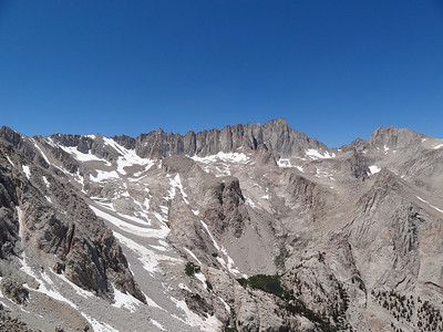 Candlelight Peak summit view.  The Whitney Zone.