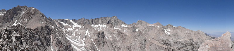Candlelight Peak summit panorama.