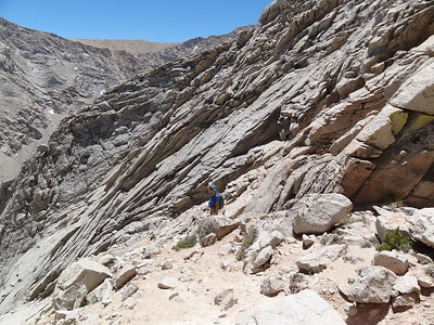 Rick on the opposite side of the notch.