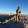 Mt. Langley summit portrait.<br /> <br /> Photo taken by Mike Mellin.