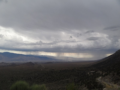 Storm over the Owens Valley.