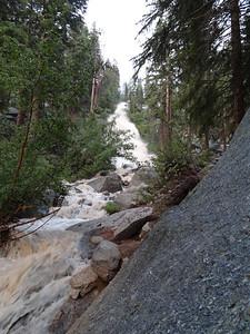 Whitney Portal Waterfall.
