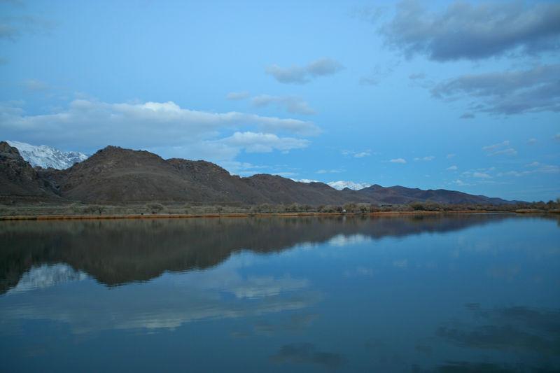Dawn at Diaz Lake.