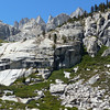 The Slabs above Lower Boy Scout Lake.