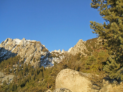 Thor Peak, the Needles and Whitney from the Main Trail.