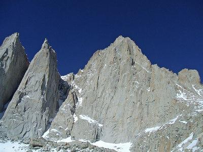 Crook's Peak, Keeler Needle and Mt. Whitney.