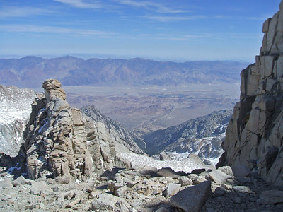 The Owens Valley and beyond from the Notch.