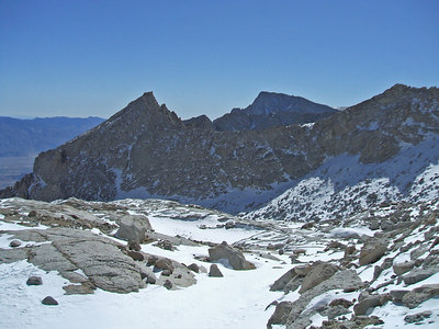 Thor and Lone Pine Peaks.