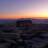 This is the 100th anniversary month for the Smithsonian Hut on the summit of Mt. Whitney.