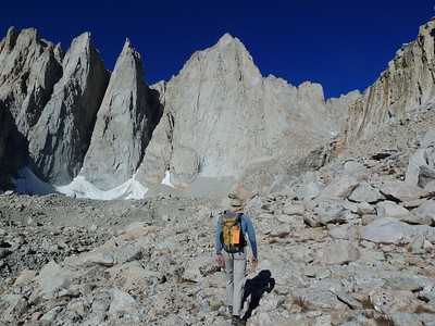Mt. Whitney from the Mountaineer's Route.
