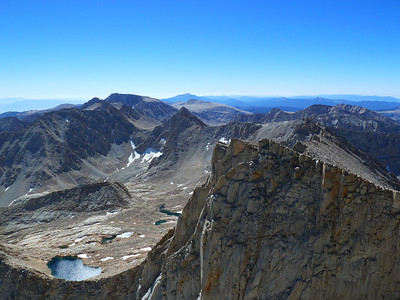 """Mt. Whitney summit view.  """"South."""""""