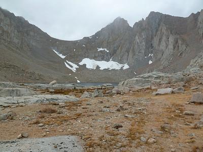 Consultation Lake below Arc Pass.
