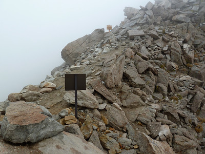 Trail Crest.  12:54pm.