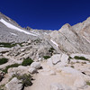 The Sierra crest from below Trail Camp.