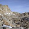 Mt. Russell peeks out above Pinnacle Ridge.