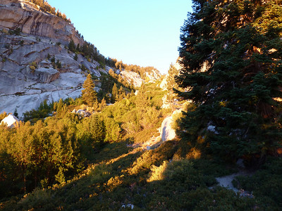 Looking up the North Fork drainage.
