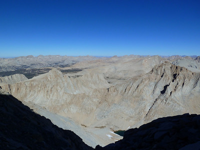 The view from the climb up the Final 400'.