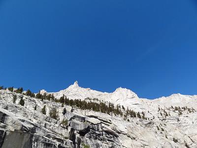Cliffs above LBSL.