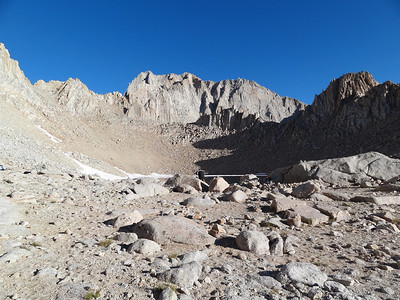 Mt. Russell above Iceberg Lake.