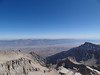 Mt. Whitney summit view.<br /> <br /> Looking down the Mountaineer's Route.