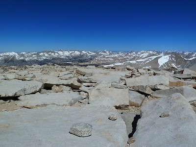 Mt. Whitney summit view.