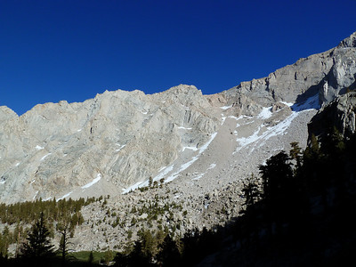 The Red Chute on Candlelight Peak.