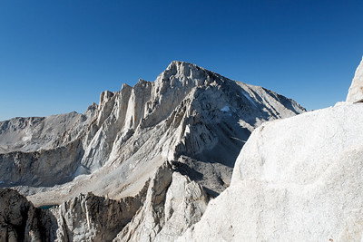 Mt. Whitney and the Needles.
