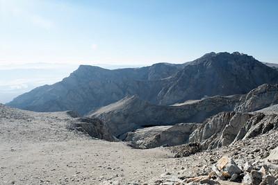Thor Peak (at center).