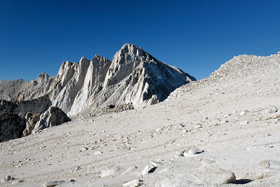 Mt. Whitney from the Russell/Carillon pleateau.