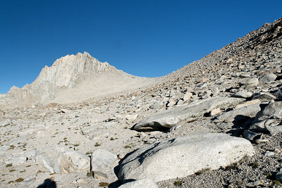 Mt. Russell and the Russell/Carillon Saddle.