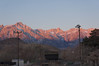 Lone Pine Peak and Mt. Whitney  from outside McDonalds.