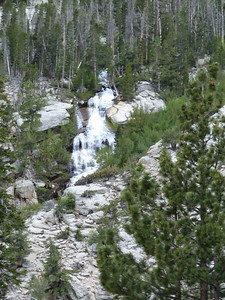 One of many cascades on Lone Pine Creek.