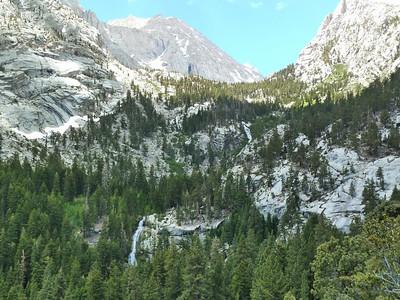 The Main Trail heads up thru this terrain.