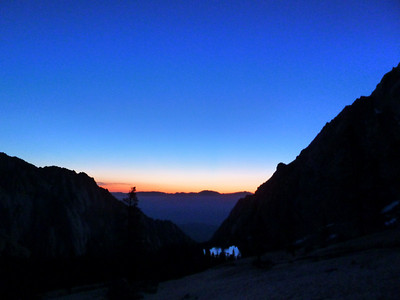 Lone Pine Lake on the way down Mt. Whitney.