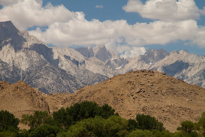 Mt. Whitney from the Visitor's Center.