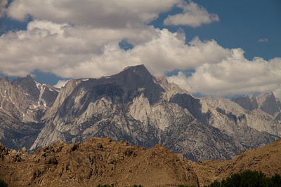 Lone Pine Peak from the Visitor's Center.