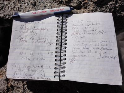 Morris Peak / Peak 6940 - May 20, 2011
