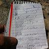 Mt. Whitney summit register.