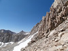 The view from the approach to the Whitney / Russell Pass.