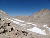 Looking down the Arctic Lake drainage from Whitney / Russell Pass.