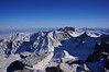 """Mt. Whitney summit view. <br /> <br /> """"South."""""""