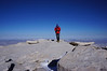 Bob on the summit of Mt. Whitney.<br /> <br /> 313 successful summits in-a-row.